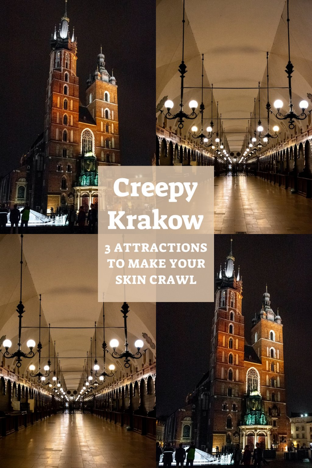 Creepy Krakow- 3 attractions to make your skin crawl