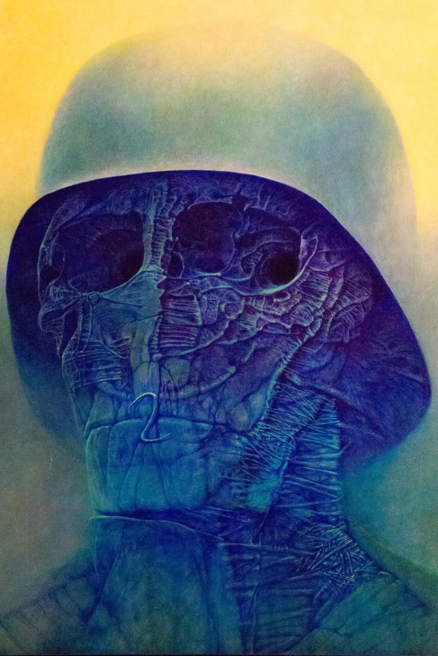 "<img src=""painting.png"" alt=""Zdzisław Beksiński's painting"">"