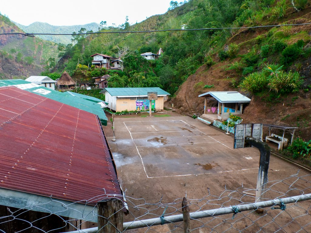 "<img src=""village.gif"" alt=""basketball court in a village at the northen philippines"">"
