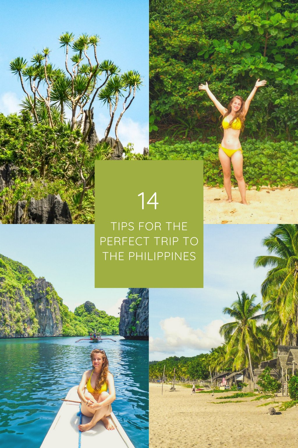 14 tips for the perfect trip to the Philippines, or: How you\'ll experience a much better trip than I have!