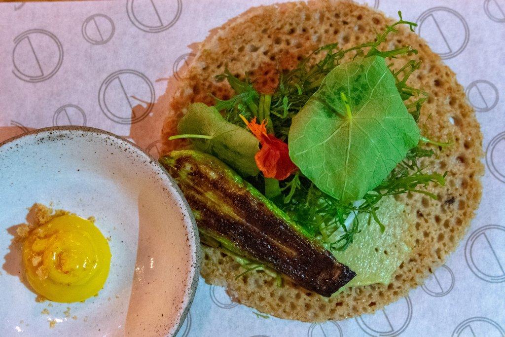 "<img src=""pancake.png"" alt=""green buckwheat pancake at the OCD restaurant in Tel aviv"">"