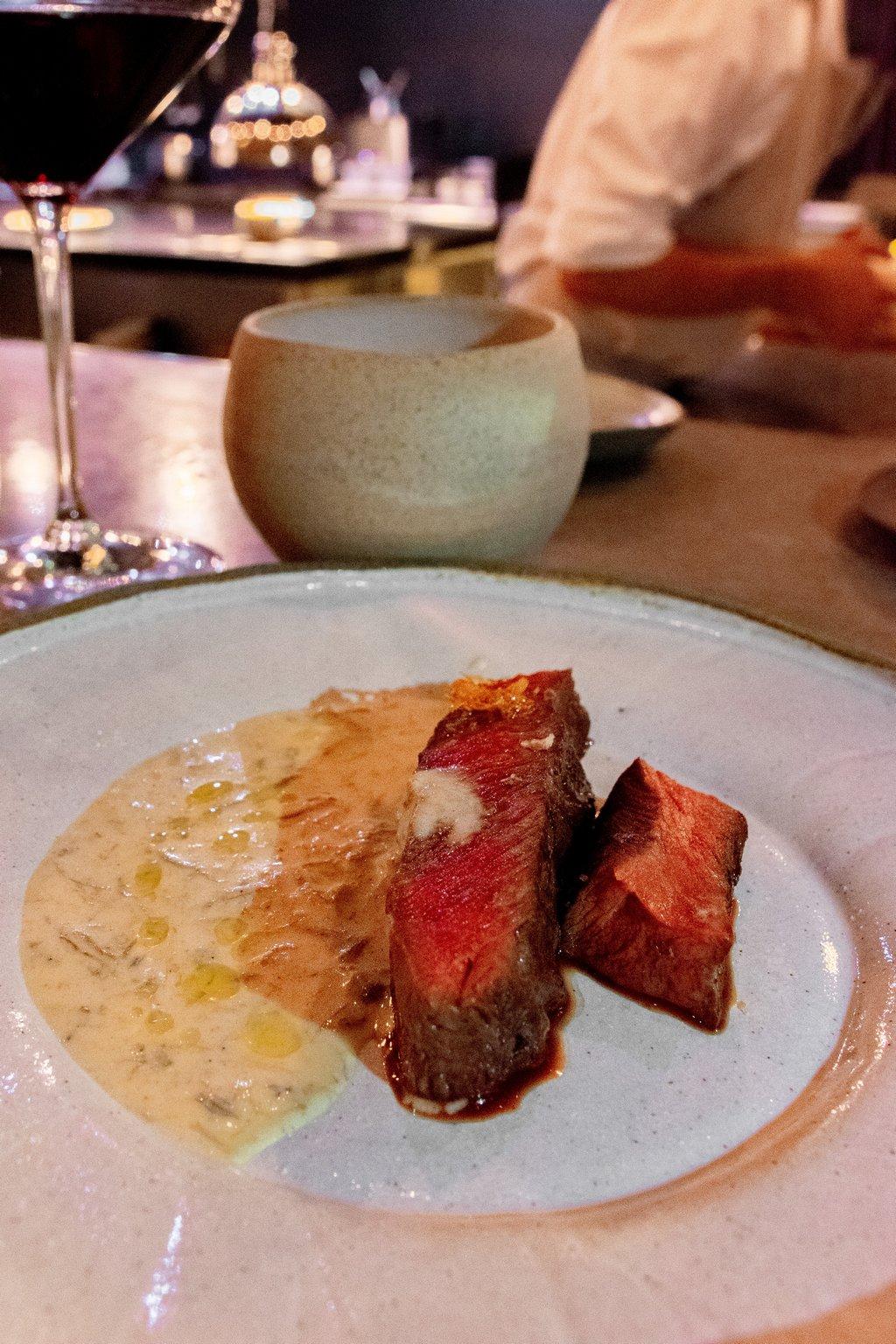"""<img src=""""steak.png"""" alt=""""flat iron steak at the OCD restaurant in Tel aviv"""">"""